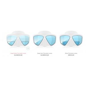 Custom Prescription Mask Lenses